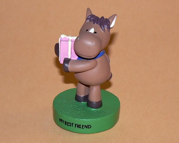 """Message-Figur Tabby """"My best Friend"""""""