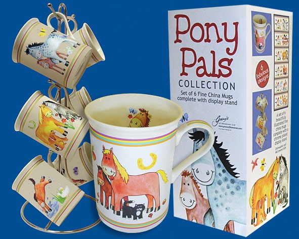 "Tassen-Set ""Pony Pals"""