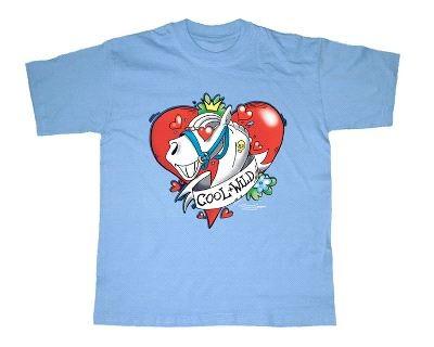 """T-Shirt """" Cool + Wild"""""""