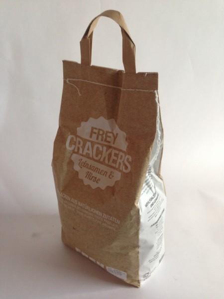 """FREY Crackers """"LEINSAMEN & HIRSE"""", 2,5 kg"""