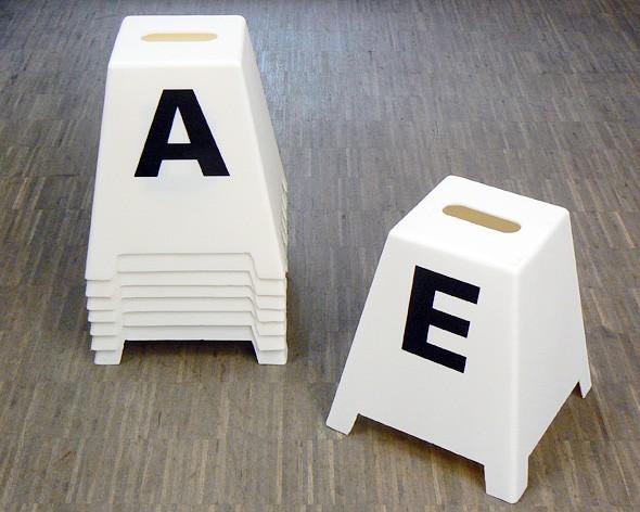 Bahnbuchstabentürme 20 x 60