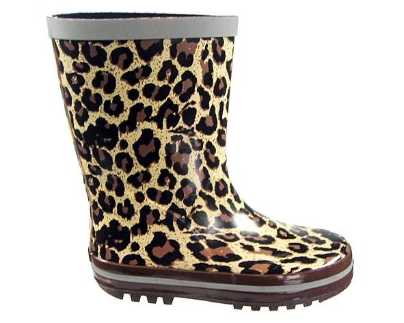 "Gummistiefel ""Leopard"", Kinder"
