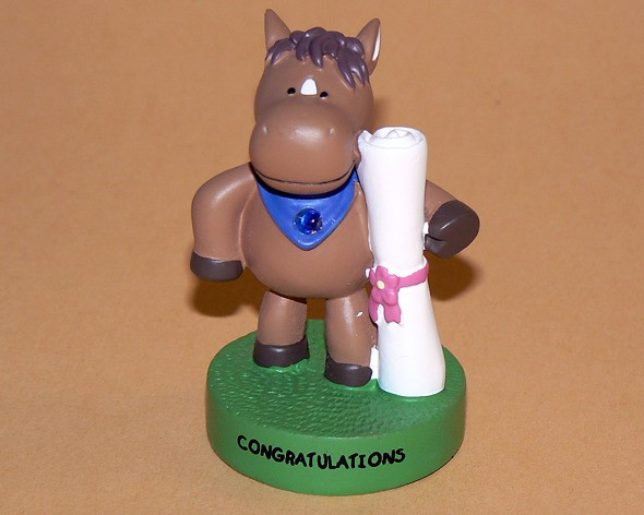 "Message-Figur Tabby ""Congratulations"""