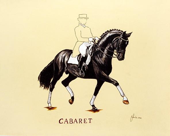 """Kunstdruck """"Cabaret"""""""
