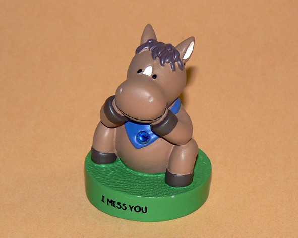 """Message-Figur Tabby """"I Miss You"""""""