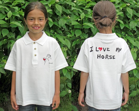 "Polo-Shirt ""Cheval"""