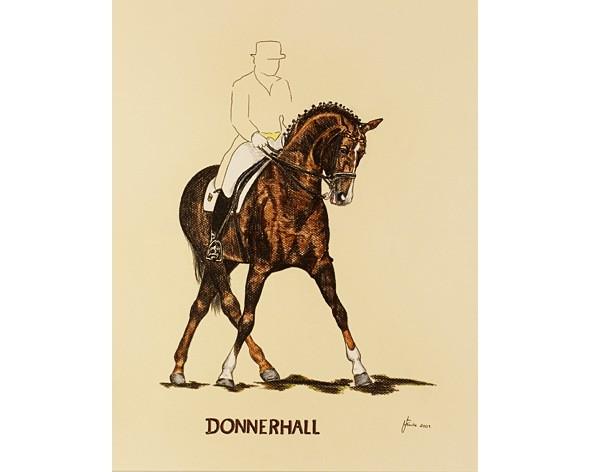 """Kunstdruck """"Donnerhall"""""""