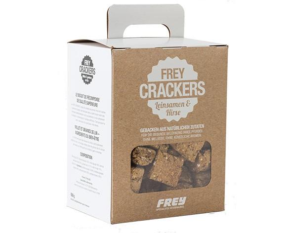 """FREY Crackers """"LEINSAMEN & HIRSE"""""""