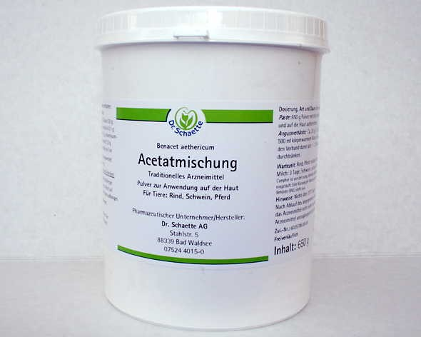 Dr. Schaette`s Acetatmischung, 650-g