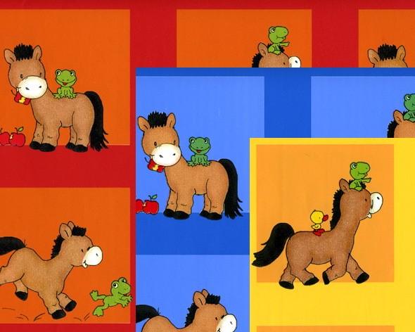 """Geschenkpapierbogen """"Pony"""""""